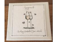 Engagement Keepsake Box And Photo Album Gift