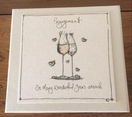 Engagement Photo Album and Keepsake Box