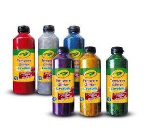 Crayola-tempere-glitter-25-ml-2x3-colori-assortiti