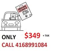 Driving Class/Lessons. SUMMER SPECIAL!!! $349. CALL 4168991084