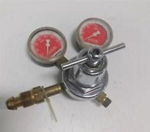 NEW ACETYLENE GAUGE COMPRESSED GAS REGULATOR