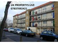 3 BED ROOM FLAT STUNNING IN >>>>BROCKLEY LONDON<<< NEXT TO BROCKELY STATION £ 500 FOR EACH ROOM.
