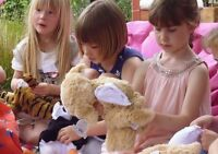 BUILD A FRIEND, BEAR BUILDING BIRTHDAY PARTY!  IN YOUR HOME