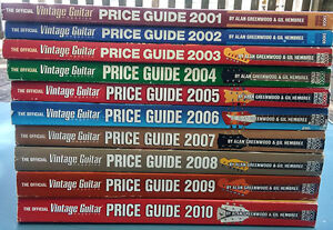 Vintage Guitar Magazine Price Guide - Collection 2001-2010