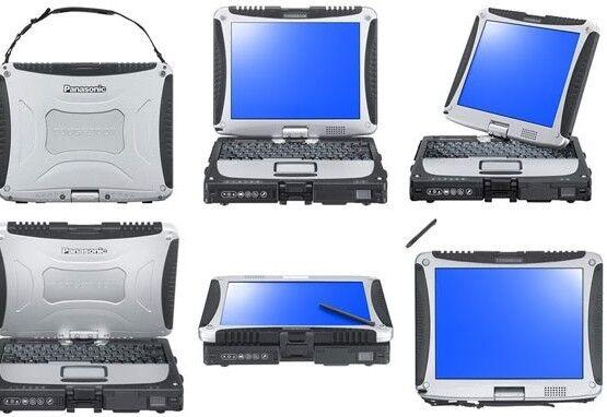 PANASONIC TOUGHBOOK CF-19, i5 /4GB /500GB//GOBI/ Win7
