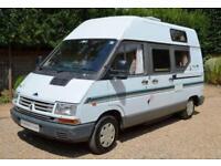 2-berth Romahome Renault Trafic St Michel camper van for sale