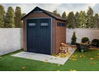 FUSION 757 KETER PLASTIC SHED