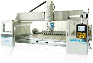 Bridge saw 5 axis CNC machine Denver Unika 5 HT