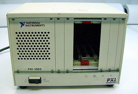 National Instruments NI PXI-1002 CompactPCI PXI 4-Slot Chassis