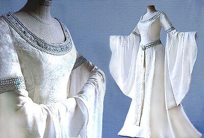 Elfenkleid Brautkleid ARLIA Herr der Ringe Arwen Hochzeitskleid
