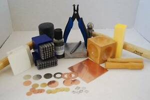 Jewellery and Metal Stamping Kit - DELUXE KIT RRP $250 Balmain Leichhardt Area Preview