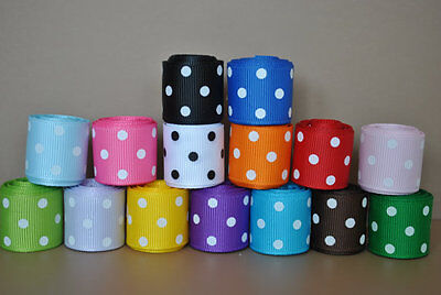 """wholesale 5/8 """" grosgrain ribbon lot  15 yards (15 colors -1y each) for hairbow"""