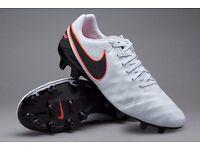 Brand new limited edition Nike Tiempo Mystics - Pure Genuine Leather - Never been worn; STILL IN BOX