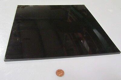 Delrin Pom Acetal Black Sheet 14 .250 X 12 X 12