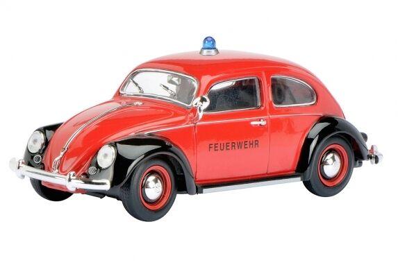 """Schuco 450773800 VW Käfer Ovali """"FEUERWEHR"""" - 1:32 #NEU in OVP#"""