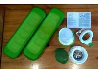 Oxo good grips baby weaning items - freezer trays and food mill