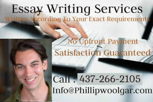 essay writing tutors toronto Private writing tutors ottawa operated and managed by certified and  experienced teachers we teach writing and essay writing skills.