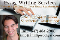 Master's Level Essays Written For You