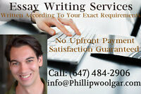 Customized, Professional Academic Essays To Meet Your Needs