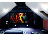 custom made cinema / movie/ gaming rooms
