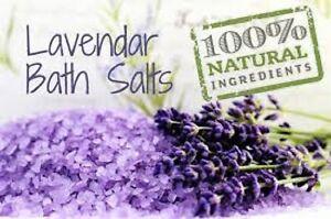 1kg RELAXING FRENCH LAVENDER Bath Salts ~Relax & Rejuvenate~Essential Oils