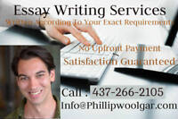 Trust a Native English Speaker to Write Your Essay !!