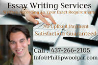 Custom Essay Writing According To Your Requirements
