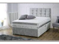 Brandnew Velvet Crush Beds free delivery 07808222995