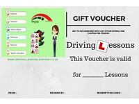 Driving Lessons Gift Voucher the perfect gift a skill for life