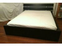 Ikea king size bed + mattress # FREE DELIVERY