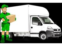 MAN & VAN HOUSE MOVING OFFICE REMOVAL BIKE DELIVERY FLAT MOVERS PIANO SHIFTING LUTON TRUCK HIRE RENT