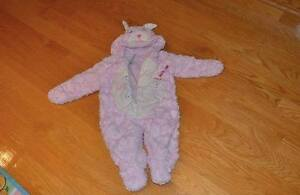 Pink Rabbit very warm snowsuit, without tags but never worn, 9m
