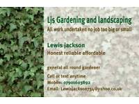 Gardening and landscaping no job too big or small 07856232546