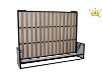 Horizontal Panel wall bed, 150x200