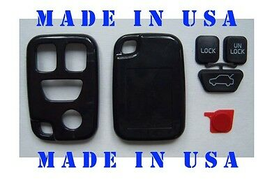 Keyless Entry Remote Key Fob w/ 4 Buttons Volvo S70 S40 V70 w/btns Made in USA