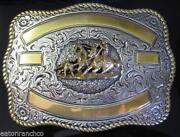 Team Roping Buckle