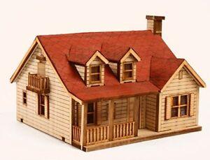 Western House B Wooden Model Kit
