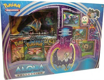 Pokemon - Alola Kollektion Moon - LunalaGX Box - Deutsche Ausgabe