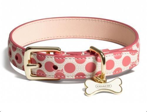 Coach Dog Collar Small Ebay
