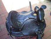Leather Stock Saddle