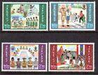 Boy Scouts Thai Stamps