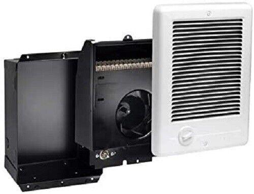 Com-Pak Plus 120V Fan Forced Wall Heater in White