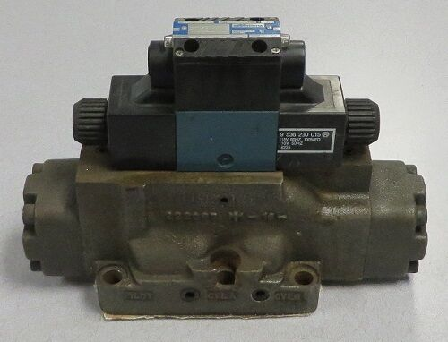 MILLER FLUID POWER Directional Control Valve M/N: 583-D8E-547
