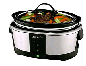 Crock-Pot SCCPWM600-V1-033 WeMo Enabled Smart Slow Cooker