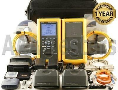 Fluke Dsp-4300 Cat6 Mm Fiber Cable Tester Fta420 Dsp4300 Dsp 4300 Dsp-fta420