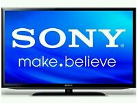 """Sony bravia 40"""" LCD tv full hd 1080p built in freeview tv is in mint"""