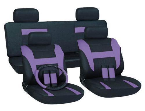 Purple Seat Covers