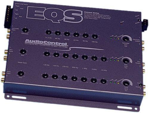 audiocontrol eqs signal processors ebay. Black Bedroom Furniture Sets. Home Design Ideas