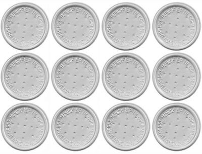12 Pack Pipe Tobacco Moistener Pod Disc Humidifier For Jar Pouch Bag Humidor Tin