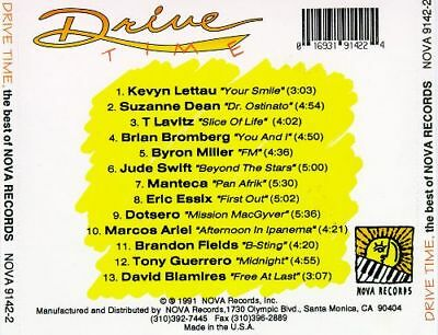 Drive Time: Best of Nova Records by Various Artists (CD, 1991,